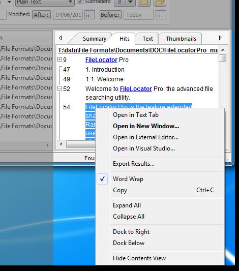 FileLocator Pro screenshot